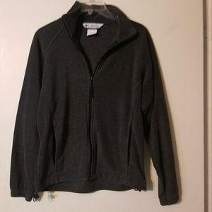 Zip up fleece sweater